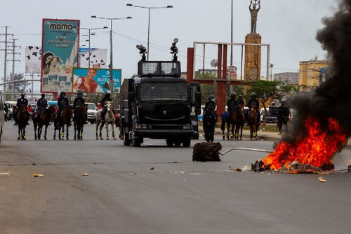 Angola: At least six journalists arrested while covering a civil society demonstration