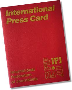IFJ Press Card